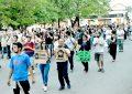 La ciudad se hizo eco del pedido  de justicia por Santiago Maldonado