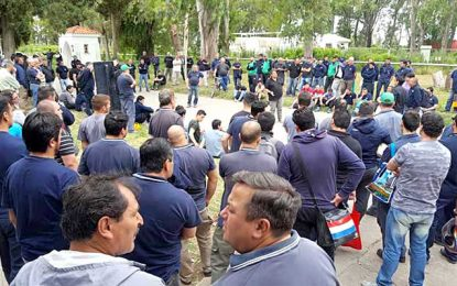 Fábrica Militar: hubo asamblea y mañana se movilizarán