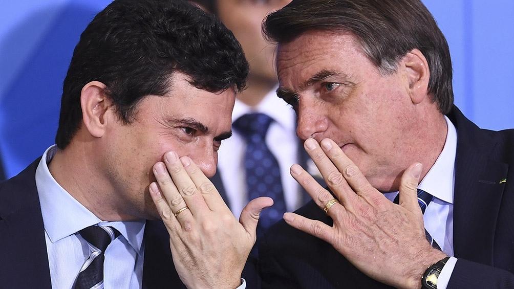 Moro presenta pruebas contra Bolsonaro sobre su supuesta interferencia en la policía