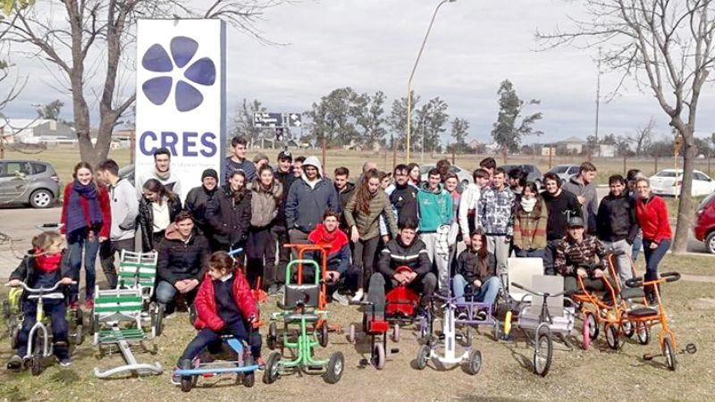 Alumnos de la Universidad crearon móviles para niños con internación ambulatoria