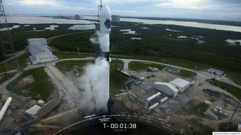 Exitoso lanzamiento del satélite argentino Saocom 1B