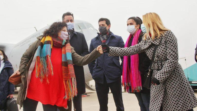 "Vizzotti en Córdoba: ""Seguimos avanzando con un abordaje integral de la pandemia"""
