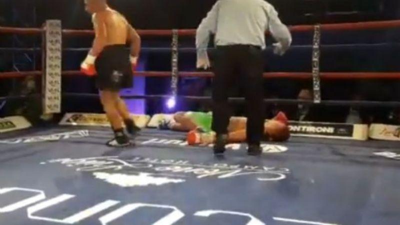 Boxeador en grave estado tras el castigo que recibió en una pelea realizada en Oncativo