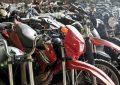 Subastarán más de cien motos