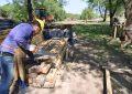 Nuevo puente: preparan las pistas para construir las vigas