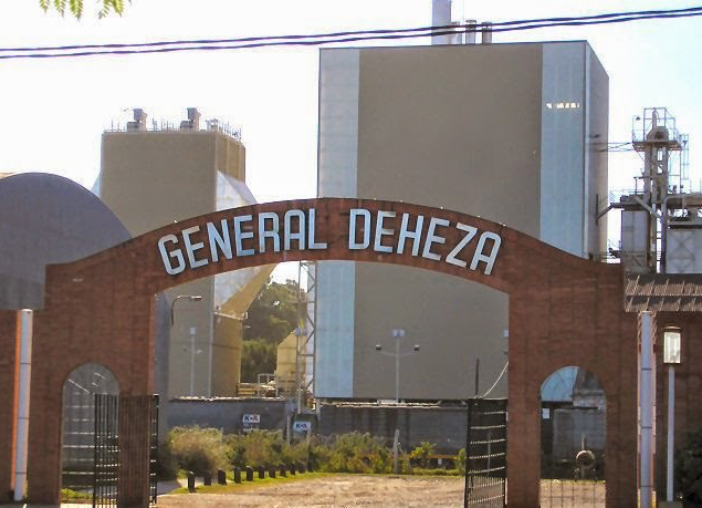 Image result for parque industrial de general deheza aerian urquía